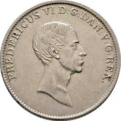 سکه > 1اسپسیدالر, 1820-1839 - دانمارک  - obverse