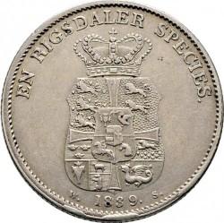 Moneda > 1speciedaler, 1820-1839 - Dinamarca  - reverse