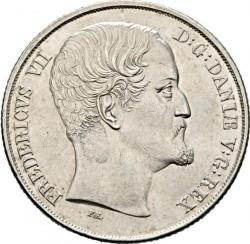 Кованица > 1специдалер, 1849-1854 - Данска  - obverse