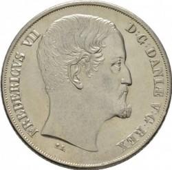 Монета > 1спесиедалер, 1849-1854 - Дания  - obverse