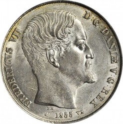 Münze > 2RigsdalerR.M., 1854-1863 - Dänemark   - obverse