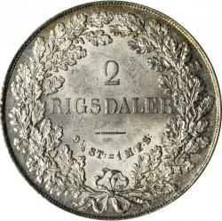 Münze > 2RigsdalerR.M., 1854-1863 - Dänemark   - reverse