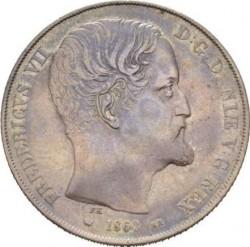 العملة > 2ريسدالر, 1854-1863 - الدنمارك  - obverse