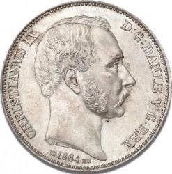 العملة > 2ريسدالر, 1864-1872 - الدنمارك  - obverse