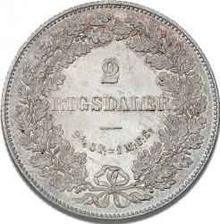 العملة > 2ريسدالر, 1864-1872 - الدنمارك  - reverse