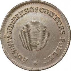 Монета > ½скилинг, 1799-1802 - Швеция  - obverse
