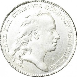 Монета > ⅙риксдалер, 1809-1814 - Швеция  - obverse