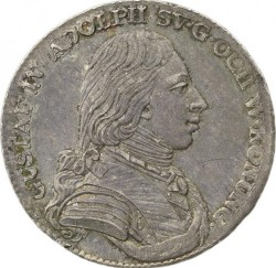 Pièce > ⅓riksdaler, 1799-1800 - Suède  - obverse