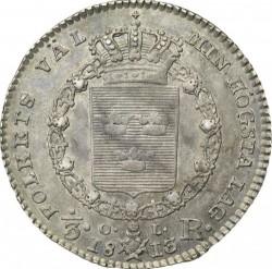 Münze > ⅓Riksdaler, 1813-1814 - Schweden   - reverse