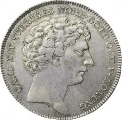 Монета > 1риксдалер, 1818-1827 - Швеция  - obverse