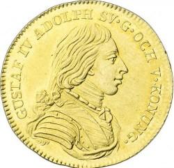 Moneda > 1ducado, 1801-1809 - Suecia  - obverse