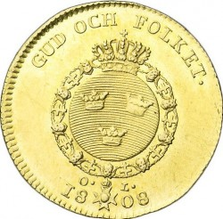 Moneda > 1ducado, 1801-1809 - Suecia  - reverse