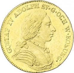 Монета > 1дукат, 1801-1809 - Швеция  - obverse