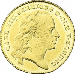 Pièce > 1ducat, 1810-1814 - Suède  - obverse