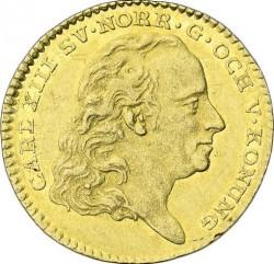 Монета > 1дукат, 1815-1817 - Швеция  - obverse