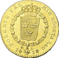 Монета > 1дукат, 1815-1817 - Швеция  - reverse