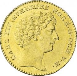 Moneta > 1dukatas, 1818-1829 - Švedija  - obverse