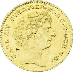 Moneda > 1ducado, 1818-1829 - Suecia  - obverse