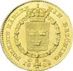 Moneda > 1ducado, 1818-1829 - Suecia  - reverse