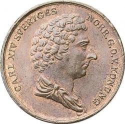Монета > ¼скіллінга, 1832-1833 - Швеція  - obverse