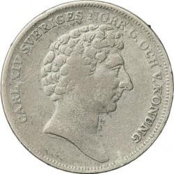 Mynt > ¼riksdalerspecie, 1830-1836 - Sverige  - obverse