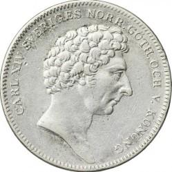Монета > ½ригсдалерспесие, 1831-1836 - Швеция  - obverse