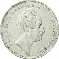 Монета > 1ріксдалерспєсіє, 1845-1855 - Швеція  - obverse