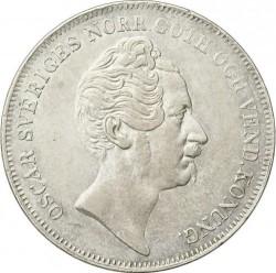 Монета > 1ригсдалерспесие, 1845-1855 - Швеция  - obverse