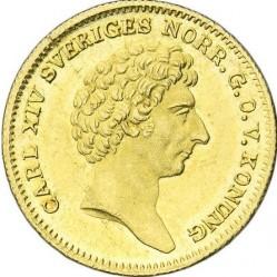 Pièce > 1ducat, 1830-1834 - Suède  - obverse