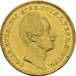 Minca > 1dukát, 1845-1859 - Švédsko  - obverse