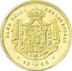Moneda > 1ducado, 1860-1868 - Suecia  - reverse