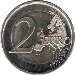 Monēta > 2eiro, 2018 - Grieķija  (75th Anniversary - Death of Kostis Palamas) - obverse