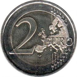 Moneta > 2euro, 2018 - Grecia  (70º anniversario - Unione delle isole del Dodecaneso con la Grecia ) - obverse