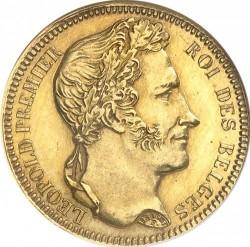 Moneta > 20franchi, 1834-1841 - Belgio  - obverse