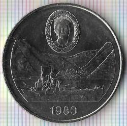 Moneta > 25pence, 1980 - Sant'Elena  (80° Anniversario - Nascita della Regina madre) - reverse