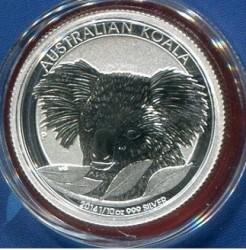 Moneta > 10centów, 2014 - Australia  (Koala australijski) - reverse