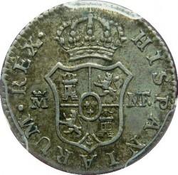 Кованица > ½реала, 1789-1808 - Шпанија  - reverse
