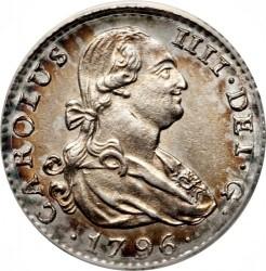 Moneta > 1real, 1788-1808 - Hiszpania  - obverse