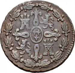 سکه > 4maravedis, 1770-1788 - اسپانیا  - reverse