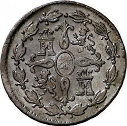 Moneda > 4maravedíes, 1770-1788 - España  - reverse