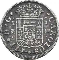 Moneta > 1real, 1759-1771 - Hiszpania  - obverse