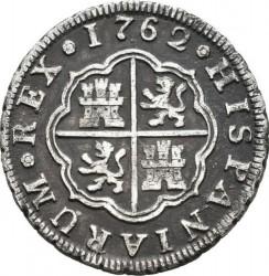 Moneta > 1real, 1759-1771 - Hiszpania  - reverse