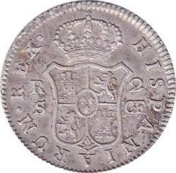 Moneta > 2reale, 1772-1788 - Hiszpania  - reverse