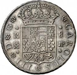 Moneta > 8reali, 1762 - Hiszpania  - obverse