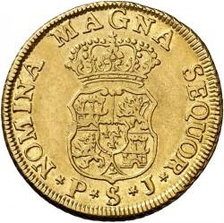 Coin > 2escudos, 1749 - Spain  - reverse