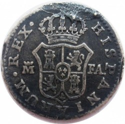 Moneta > ½reala, 1789-1808 - Hiszpania  - reverse