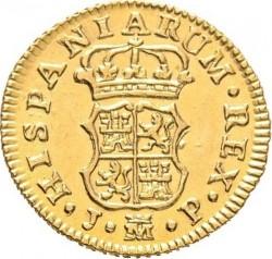 Moneta > ½escudo, 1759-1771 - Hiszpania  - reverse