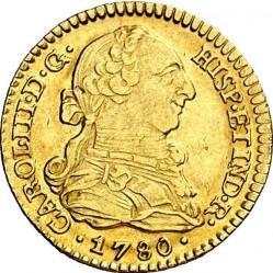 Moneta > 1escudo, 1772-1785 - Hiszpania  - obverse