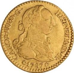 Moneta > 1escudo, 1784-1788 - Hiszpania  - obverse