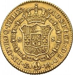 Moneta > 2escudo, 1772-1785 - Hiszpania  - reverse